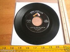 1956 Elvis Presley RCA Victor 45 Record 47-6540 VG+ I want you I need you