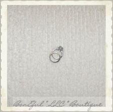 BonEful Fabric FQ Cotton VTG Chenille Terry Cloth Towel Cream Off White Material