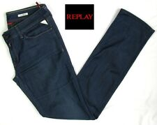 REPLAY - JEAN MODELE PAUBDUL STRETCH COTON BLEU BRUT W31 L34 - EXCELLENT ETAT