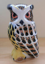 Sargadelos Porcelain Eagle Owl - NEW