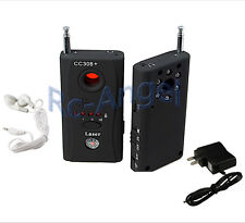 Full Range Anti-Spy Bug Wireless Camera Cell Phone GPS RF Signal Detector Finder