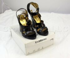 Ballistic Brown High Heel Womens Shoes PW055-20 Size 5M NEW