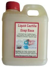 Castile Liquid Soap Base - Ready to Use - Personalise DIY Dye + Fragrance.