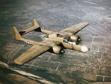 WWII Color Photo P-61 Black Widow Night Fighter USAAF WW2 World War Two / 5155