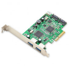 Syba USB 3.0 SATA III Pci-express 2.0 Controller Card With Standard/low Profil