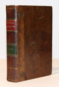 The Annual Register: a View of the History, Politics & Literature 1774/Leather
