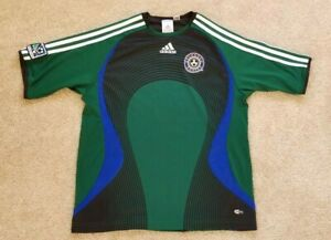 adidas Youth Kids Green Colorado Rapids ClimaCool Jersey, Size L