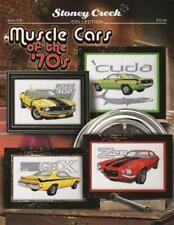 Muscle Cars of the 70's Stoney Creek BK516 cross stitch pattern