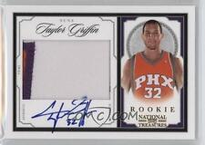 2009-10 NATIONAL TREASURES GOLD RPA AUTO JERSEY TAYLOR GRIFFIN RC #14/25 (BLAKE)