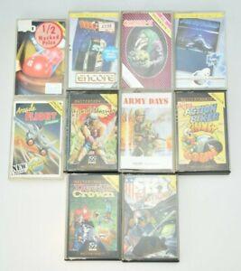 Great Bundle Of 10 Vintage ZX Spectrum Game Cassettes #1