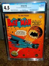BATMAN #59 CGC 4.5 FIRST APPEARANCE OF DEADSHOT