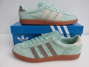 iuy bnib ADIDAS PADIHAM  UK 9  blush green simple brown pale nude FV9659