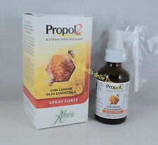 ABOCA PROPOL2 Spray Forte con alcool Adulti 30ml propoli naturale con limone