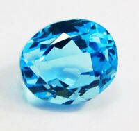 IGI CERTIFIED Free Ship! Precious Transparent Aquamarine 19 Ct Loose Gemstone