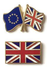 Keep Britain In Europe set of 2 Referendum Badges Enamel Lapel Pins