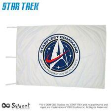 STAR TREK DISCOVERY OFFICIAL STARFLEET COMMAND WHITE FLAG - WHITE LOGO cm100x150