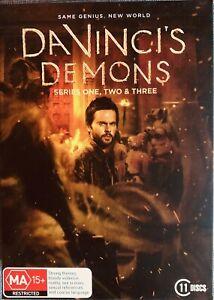 Da Vinci's Demons : Season 1-3 (DVD, 2016, 11-Disc Set) Region 4 BBC