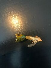 Vintage Fly Rod Frog Hula Popper Fishing Lure-Tackle