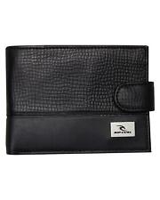 Rip Curl CLIPPA RIPPA RFID ALL DAY WALLET Mens LEATHER Wallet New - BWLKF2 Black