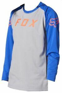 FOX MTB DEFEND LS  STEEL GREY YOUTH JERSEY FOX