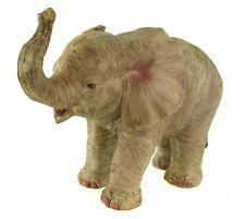 Elefant stehend Figur 32 cm Afrika Garten Glück Tierfigur Skulptur In Outdoor
