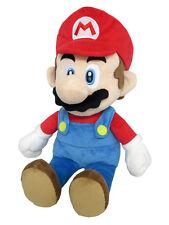 "Little Buddy 1583 Super Mario All Star Collection Mario 14"" Medium Stuffed Plush"