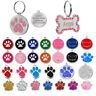 Personalised Premium Engraved Pet Tags DOG ID Custom Disc Disk Puppy Cat