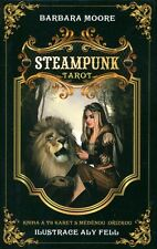 Steampunk Tarot deck with bronze card edges, CZECH EDITION, brand new!