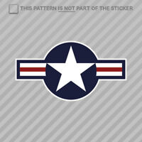 United States Air Force USAF Roundel Sticker Self Adhesive Vinyl military