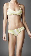 BNWT Beautiful Designer Ladies BURBERRY Striped Bikini Set  Size S
