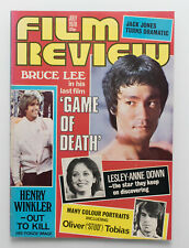 Film Review magazine July 1978 Bruce Lee in Game of Death cover