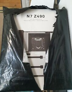 Intel Core i9 10900 and NZXT N7 Z490 motherboard