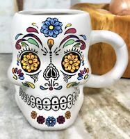 3D Sugar Skull Coffee Tea Mug Cup Halloween Day of the Dead 2019 Brand Castle