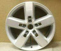 "1 GENUINE ORIGINAL OEM VW TOUAREG 19"" EVEREST ALLOY WHEEL RIM 7P6601025D SILVER"