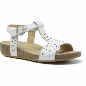 Hotter Women's Festival Cork Leather Buckle Fastening Adult Sandals Casual