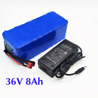 36V 8ah/10ah 18650 Cells Li-oin Battery Pack for Electric Bike with PVC Case