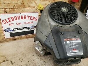 Craftsman BRIGGS & STRATTON 20HP VTWIN ENGINE MOTOR  model # 407677