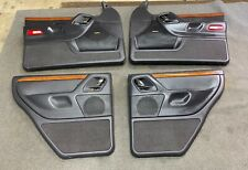 99-04 Jeep Grand Cherokee Laredo Set Of 4 Power Door Panels OEM Woodgrain Agate