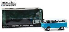 Model Diecast Dharma Van for Lost Volkswagen 1971 Type 2 Bus 1/24 Greenlight