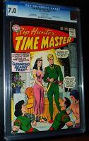 RIP HUNTER TIME MASTER #19 1964 D.C. DC Comics CGC 7.0 FN-VF