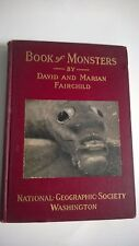 The Book Of Monsters 1914 National Geographic Entomology Bugs Insects