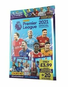 PANINI PREMIER LEAGUE 2020/21 CHOOSE YOUR FULL TEAM SETS OF 32 STICKERS