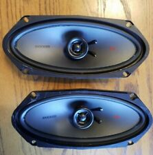 Two Kicker Car Stereo Speakers KSC4500