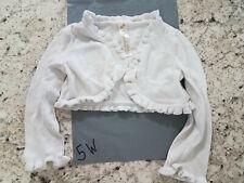 Girls Sweater - 24 Months, Cherokee, Cardigan, Bolero, Ivory, Button -5w
