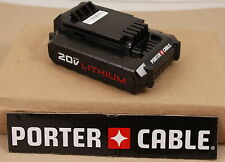 *NEW* Porter Cable PCC681L 20V MAX Li-ion Battery for PCC640 PCC600 | 2016 Code