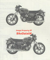 Yamaha XS750 (1979 >) Genuine Parts List Catalog Book Manual XS 750 3G9 1T4 BG67