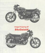 Genuine Yamaha XS750 (1979->) Parts List Catalog Book Manual XS 750 3G9 1T4 BG67