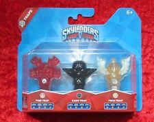 3er Pack Fallen Fire Kaos Tech Trap Team Skylanders, Skylander Falle Neu-OVP