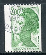 STAMP / TIMBRE FRANCE OBLITERE N° 2487 TYPE LIBERTE / ROULETTE