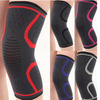 Sports Knee Brace Compression Sleeve Workout Support Pad Joint Pain Cure #HN